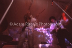 X84 Nick Mason, Roger Waters, Syd Barrett and Richard Wright of Pink Floyd at the AA All Night Christmas Party