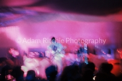 X92 Nick Mason, Roger Waters, Syd Barrett and Richard Wright of Pink Floyd at the AA All Night Christmas Party