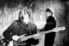 V27-2-1 Sterling Morrison (at back), John Cale, Lou Reed and Maureen Tucker
