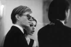 V30-3-28 Andy Warhol, Edie Sedgewick and Jonas Mekas