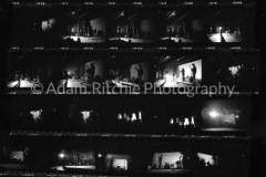 V34-2 The first two frames are of Leo Castelli, the gallery owner, the others from the Cinematheque
