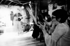 V27-3-19 Barbara Rubin filming Velvet Underground at the Cafe Bizarre