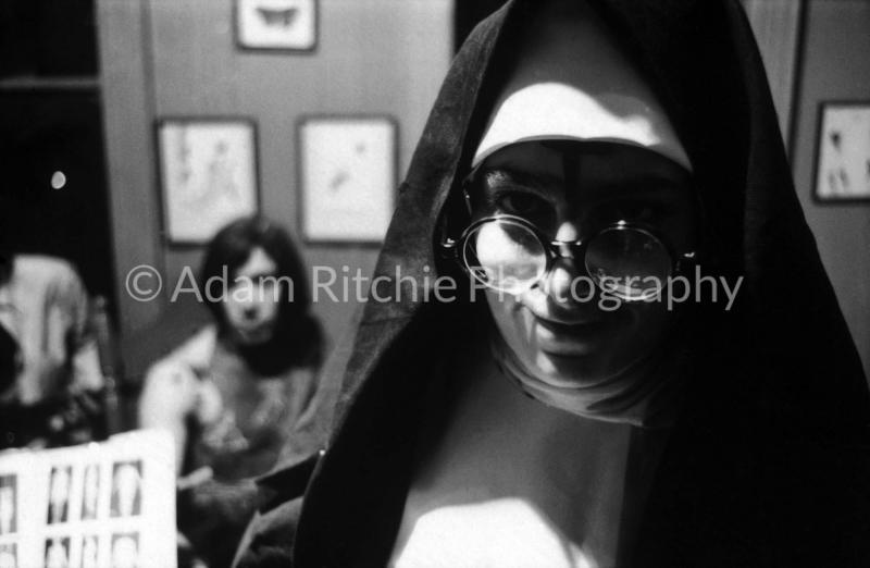 0 41Barbara Rubin dressed as a nun during filming