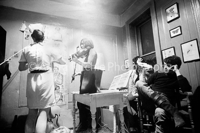 V22-3-4 Margaret Boyce Cam, John Cale, Sterling Morrison and Lou Reed