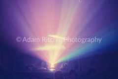 X179 Light projections at UFO Club