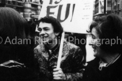 Hoppy at Pot is Fun Rally, Piccadilly Circus 1967 (Kate Heliczer right?)